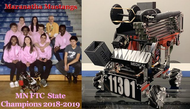 MMD Medical-Sponsored Robotics Team