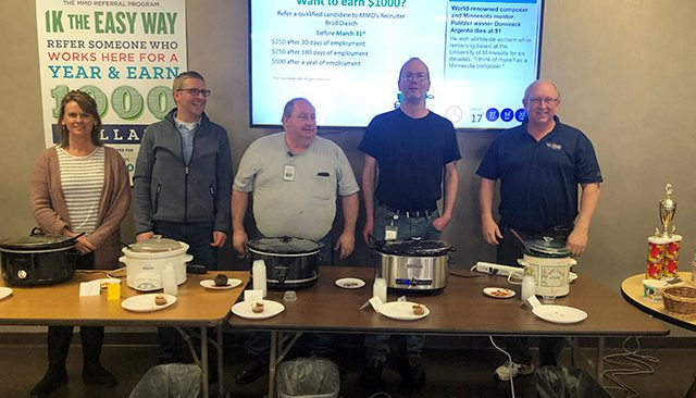 MMD Chili Cook-Off Participants